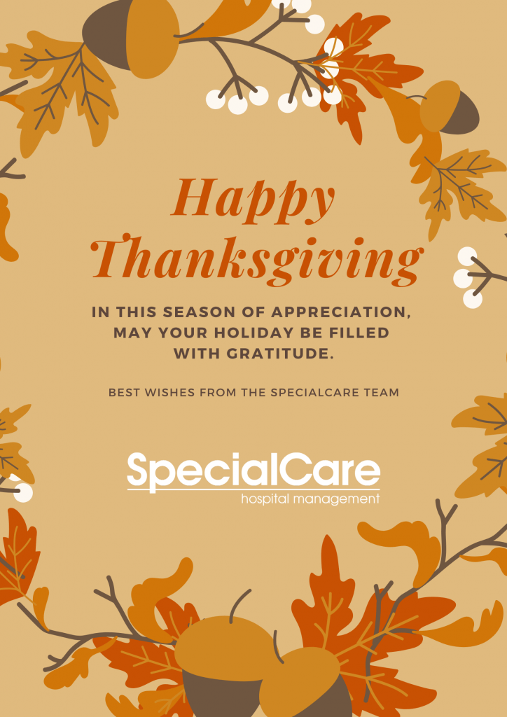 Happy Thanksgiving from SpecialCare